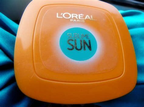artificial sunlight l reviews review fondotinta solare compatto l oreal sublime sun