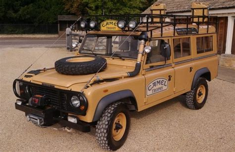 land rover camel 1983 land rover defender camel trophy ebay motors