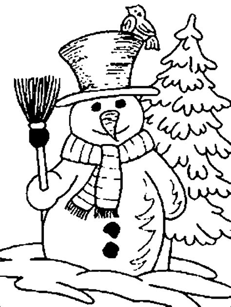 snowman coloring pages learn coloring