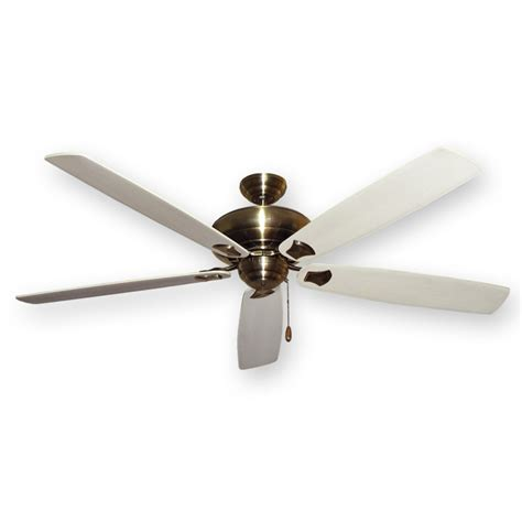 whitewashed ceiling fan antique brass 750 series 72 quot tiara ceiling fan by gulf
