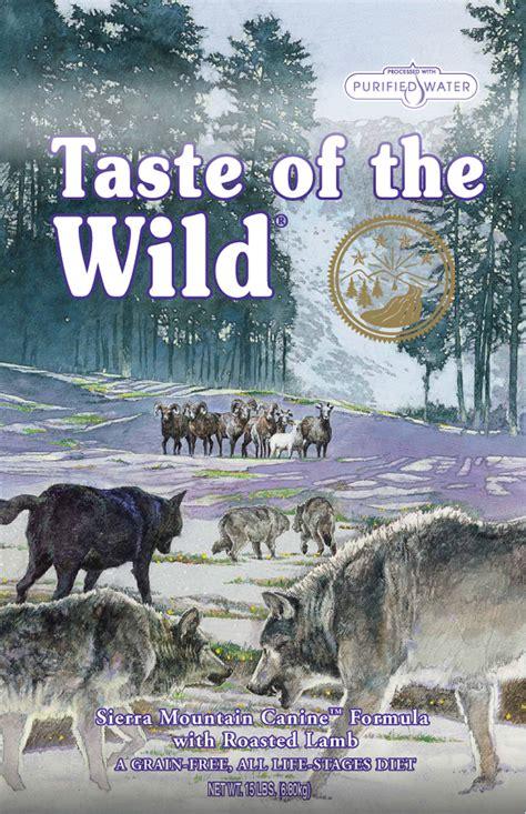 taste of puppy food taste of the mountain food food petflow