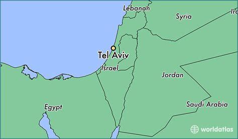 middle east map tel aviv where is tel aviv israel tel aviv tel aviv map