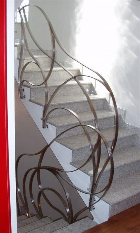 corrimano scala interna corrimano in ferro e acciaio inox scorrimano per scale