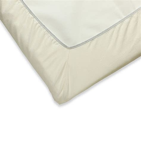 Baby Bjorn Travel Crib Sheets Babybjorn 174 Fitted Sheet For Babybjorn Travel Crib Light In Ivory Www Bedbathandbeyond Ca