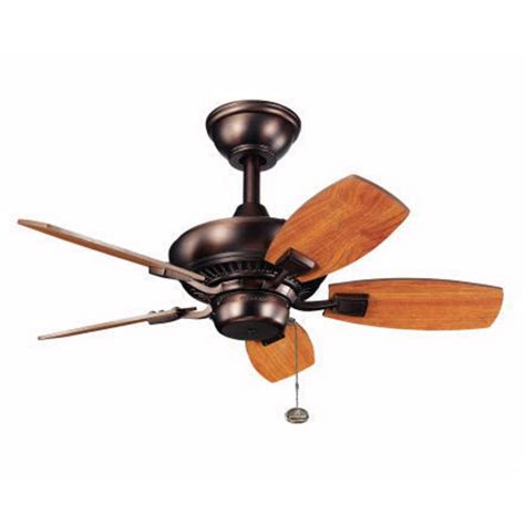 30 inch ceiling fan with light kichler 30 inch ceiling fan with five blades 300103 obb