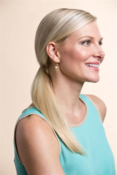 thin hair pony tail ponytail hairstyles how to make a perfect ponytail