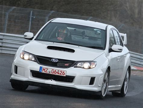 subaru nurburgring 2011 subaru impreza sti sedan nurburgring record photo 6 8356