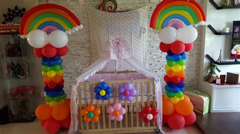 rainbow themed events balloon decorations for birthday party that balloons