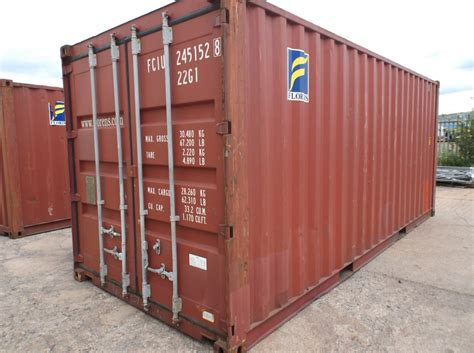 used storage container used 20ft storage container for sale mobile mini immingham