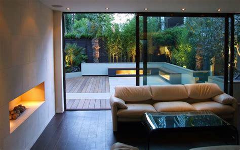 indoor outdoor garden design london contemporary gardens