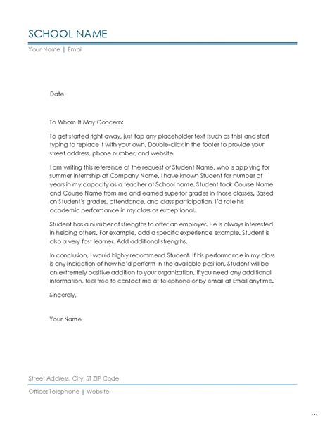 Reference Letter Necessary Recommendation Letter Pics For Sle Letters F 57 Marevinho