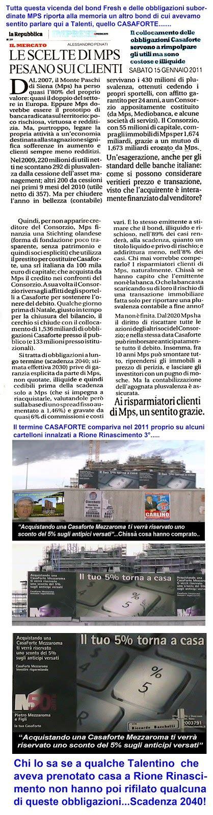 Banca Mps Posta Da Casa by Tg Roma Talenti Banca Mps Una Banca Tirata A Fondo Dall