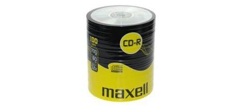 Maxell Cd R 52x 55pcs maxell cd r 100 pack