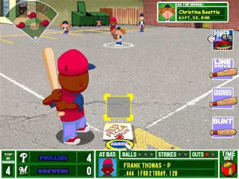 backyard baseball wiki let s play backyard baseball 2003 game 8 philadelphia