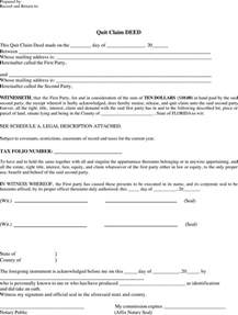 florida quit claim deed form template florida quitclaim deed form 1 for free formxls