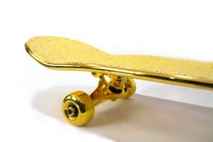 golden deck the golden skateboard radcollector
