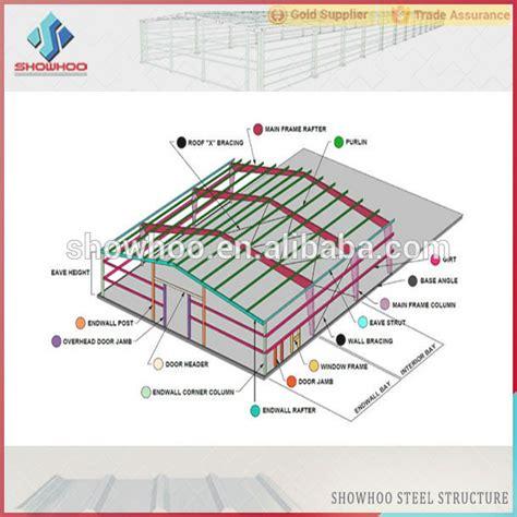 warehouse layout dwg struktur baja tata letak fleksibel prefabrikasi modern