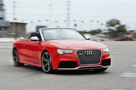 convertible audi 2013 2013 audi rs 5 cabriolet first test motor trend