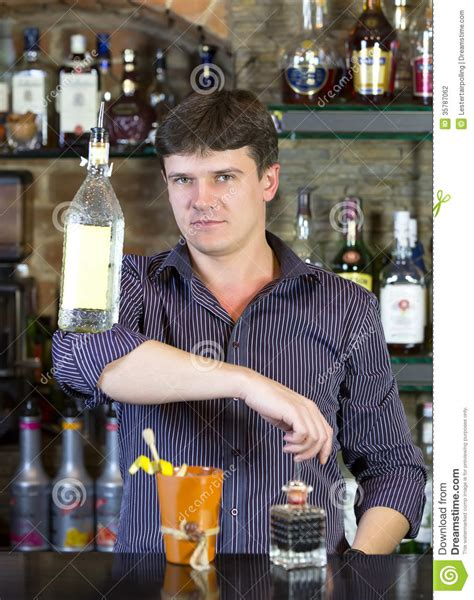 bartender photography bartender stock photography image 35787062