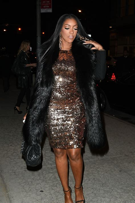 porsha williams porsha williams arrives at watch what happen live in new