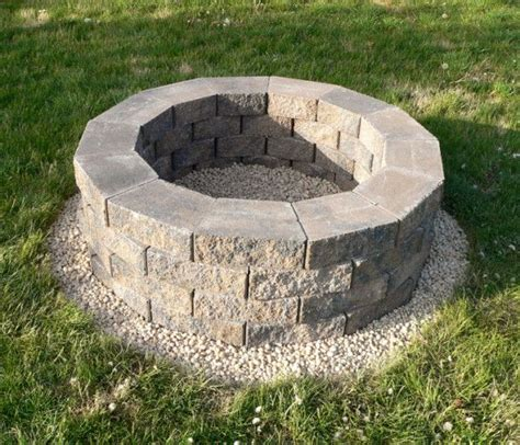 Build Your Own Fire Pit This Is Much Better Than Connor S Make Your Own Firepit