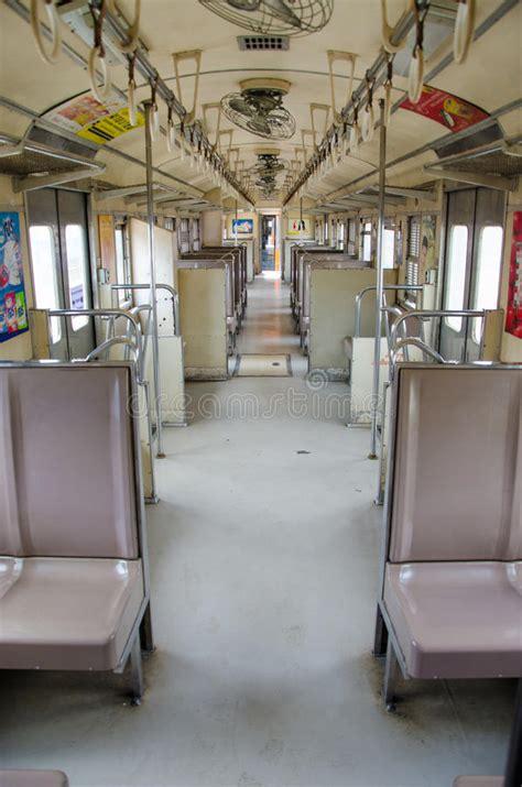 carrozza ferroviaria carrozza ferroviaria interna fotografia editoriale