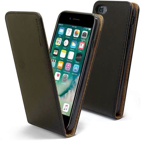 Iphone 7 Leather Original Design By Apple Premium Quality Lunatik cover flap premium for iphone 7 8 4 7 quot 4 7 leather calfskin real 3700785443623 ebay