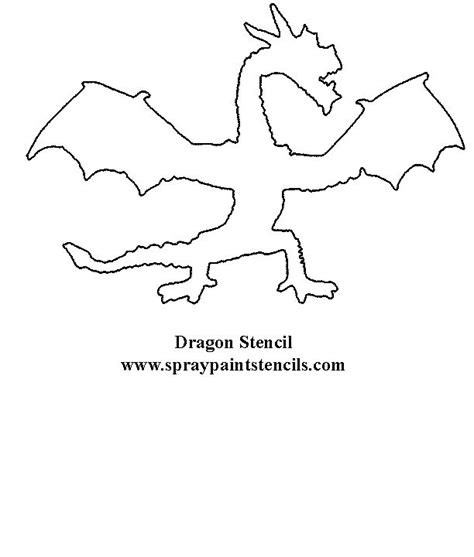 printable dragon templates dragon stencil face painting designs pinterest