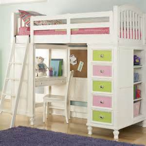Loft Beds With Desk And Storage Build A Wayfair