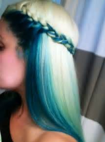 blue colored hair 16 amazing colored hairstyles pretty designs