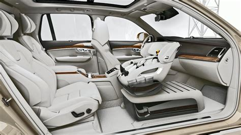 volvo xc excellence child safety seat concept youtube