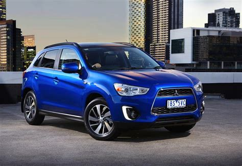 mitsubishi asx my15 mitsubishi asx update on sale from 24 990