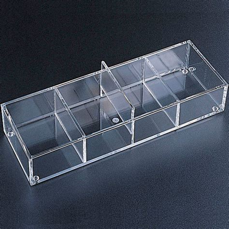 Acrylic Drawer Divider by Acrylic Drawer Organizer 4 Sections In Drawer Bins