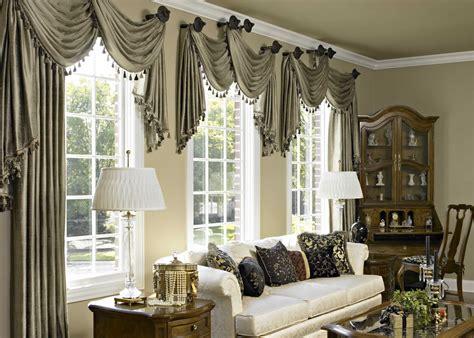 curtain ideas for large windows in living room detail more living rooms traditional living room living