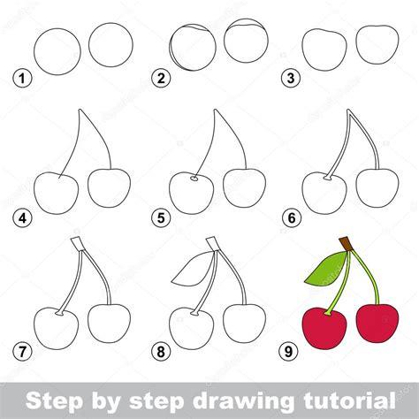 javascript tutorial step by step zeichnung lernprogramm wie eine kirsche zeichnen