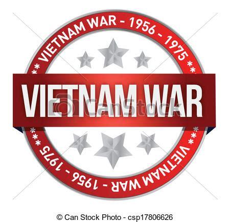vietnam war commemoration seal illustration design