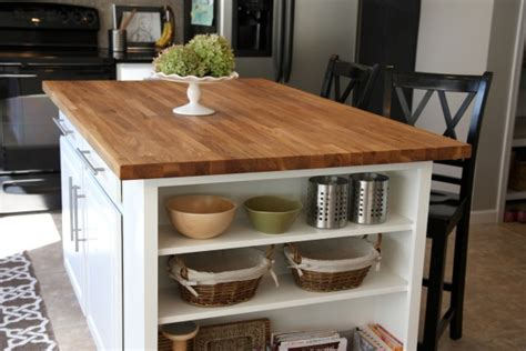 kitchen island diy ikea butcher block snazzy little things butchers block island best home decoration world class