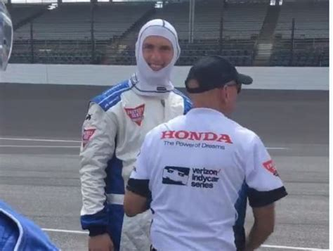 andy from indy style andrew luck hangs out with mario andretti ahead of indy
