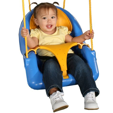 infant swing shop swing n slide comfy n secure blue and yellow infant