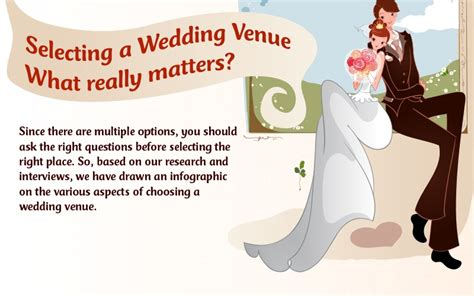 how to choose a wedding venue 15 helpful tips to consider