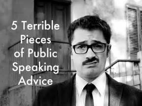 8 Pieces Of Expert Advice About by 5 Terrible Pieces Of Speaking Advice By