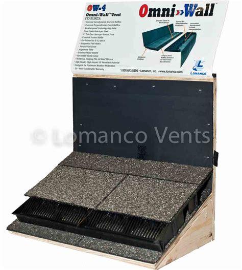 lomanco roof to wall vent lomanco vents omni wall