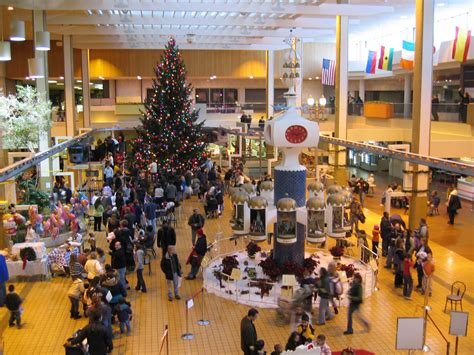 remembering rochester s midtown plaza during christmas