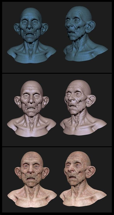 zbrush tutorial magyar 684 best 3d character world images on pinterest