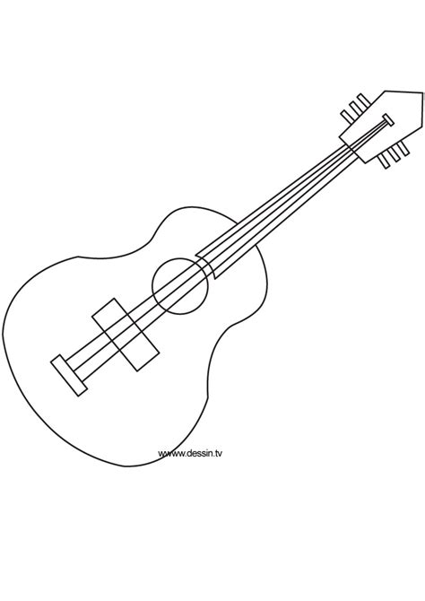 printable coloring pages guitar coloring guitar