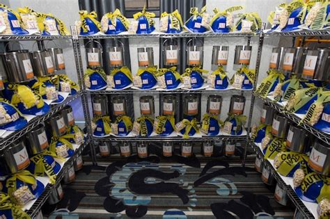 Bar Mitzvah Giveaways - beautiful blooms vie phil kramer construction bar mitzvah hard hats favors popcorn