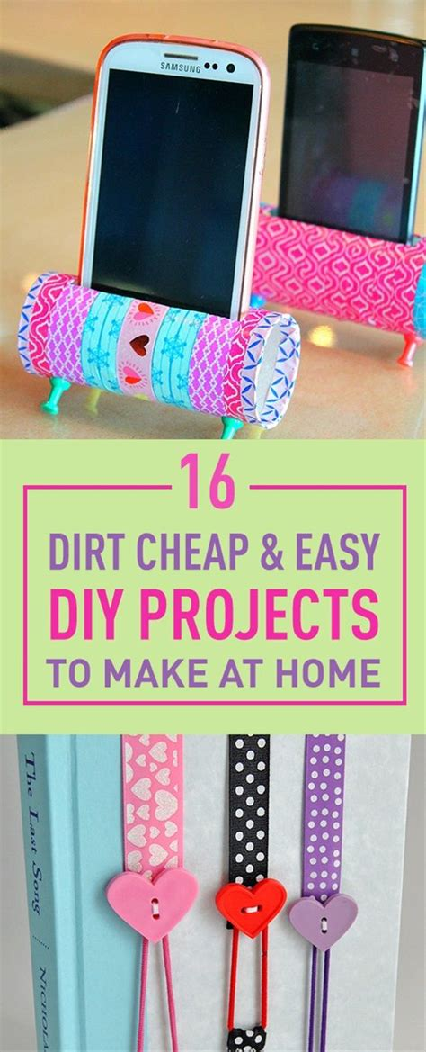 Handmade Crafts To Make At Home - best 25 easy diy crafts ideas on easy diy