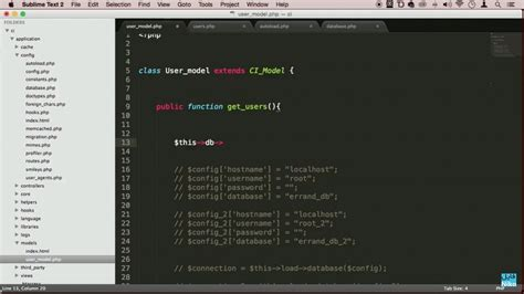 tutorial php framework mvc دانلود udemy php mvc framework codeigniter tutorial for