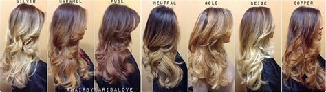 types of ombre hair color home hair color after 60 hairstyle gallery