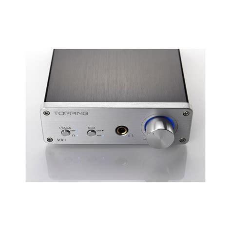 Topping Vx1 Digital Lifier Ta2021 With Dac And Headphone topping vx1 vertex class t digital lifier 24bit 96khz usb dac headphone lifier audiophonics